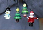 Wie schmückt man einen Weihnachtsbaum mit nicht traditionellen Ornamenten?   – Basteln