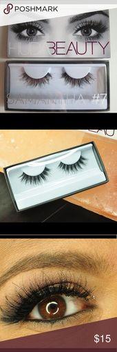 HUDA Magnificence Samantha Fashion 7 False Eyelashes BNIB!  Handmade eyelashes, pure …