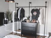 DIY Kleiderstange aus Rohren selber bauen (Industrial Style) – Pamo Design – Diy kleiderstange