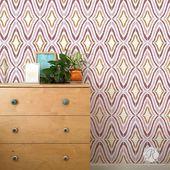 Good Vibrations Fashionable Wall Stencil