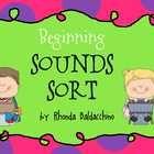 Sorting Sounds Activities