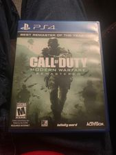 PS4 Call Of Duty Modern Warfare Remaster   – Products