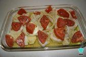 Receta de Dorada al horno con papas y cebolla   – Recetario de comida