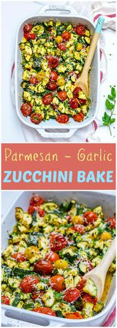 8958bbe7f3830dc6d0c554d52ac98fb2 Garlicky Parmesan Zucchini Bake is actually Perfect for Clean Consuming Type Breakfast!|Clea ...