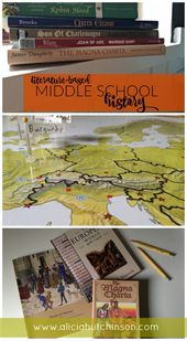 Literature-based historical past curriculum for center schoolers. homeschool historical past hom…
