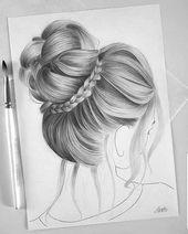 Beau Chignon Haare Zeichnen Beau Chignon Haare Zeichnen Beau Chignon Haare Zeichnen Haare Zeichnen Frauen Frisuren Haarzeichnung