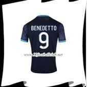 Extérieur 2020 2021. Name Set Flocage Benedetto #9 Marseille