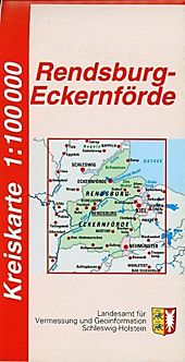Kreiskarte Schleswig Holstein Kreis Rendsburg Eckernforde Karte