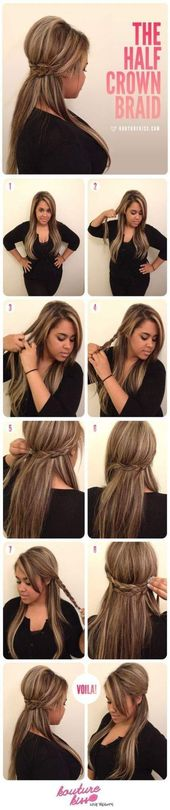 New hair half high half down wedding fun 31 Ideas – Old – #Hair #including …