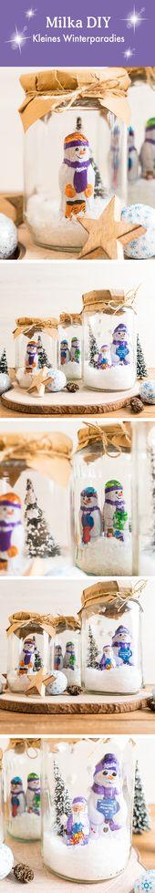 Milka Weihnachtsdeko – Weihnachten mit Milka