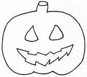 Template for printing Pumpkin Xobbu Coloring page #Halloween # Pumpkin #Touching # Vorl … – Best of: Halloween – #print