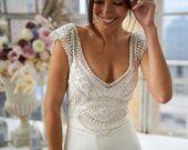Atemberaubendes Sorrento-Kleid von Anna Campbell #Hochzeitskleid #atemberaubendes …  – Ideen für die Hochzeit