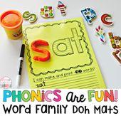 Wortfamilien: Bewährte Methode für den Leseunterricht   – Word Families