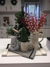 Photo of √78 Frische Bauernhaus-Weihnachtsdekor-Ideen für einen einzigartigen Look #farmhousedecor # …