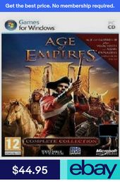 Microsoft Video Games Video Games Consoles Age Of Empires Iii