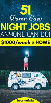 51 Beste Late Night Work From Home-Jobs, die sich oft auszahlen – Extra Income Sites That Pay!