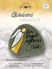 Glaubens Momente – Ein Engel begleitet Dich – Serie 4, Motiv 20 Handbemalter Nat