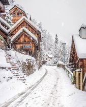 Photo of Eine wunderschöne Winterlandschaft mit viel Schnee. Sie können sofort loslegen – Winter –