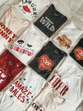 T-shirts met print – Tshirts