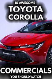 10 großartige Toyota Corolla-Werbespots, die Sie sich ansehen sollten   – VEHQ.com RV & Pickup Truck Guides