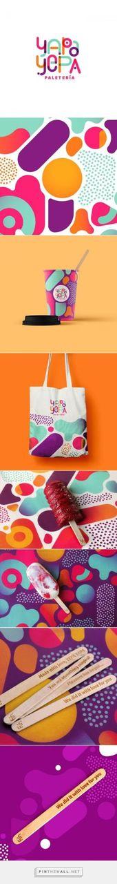 Yapa Yepa Paleteria Branding por FatKid Studio Desarrollo de marca   – Logos