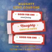 Gift for Boyfriend, Love Coupon Book, Gift Ideas for Husband, Love Coupons, Last Minute Gift, DIY Gifts, Naughty ADULT gift, Funny Gifts