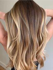 Fantastische Balayage Haarfarben Highlights für Long Loks im Jahr 2019   – Hair