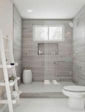29+ Einzigartige Badezimmer-Fliesen-Ideen, die Sie…