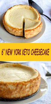 6″ NEW YORK KETO CHEESECAKE