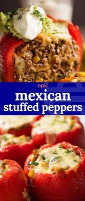 Mexican Stuffed Peppers – recepten