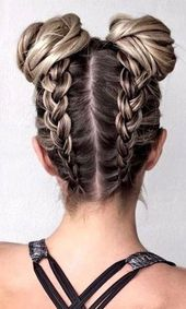 Fun Bun Braids
