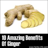 ❤ 10 Amazing Benefits Of Ginger ❤