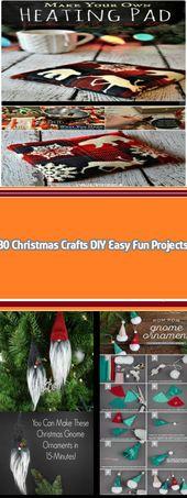 30 Christmas Crafts DIY Easy Fun Projects Unlike y…