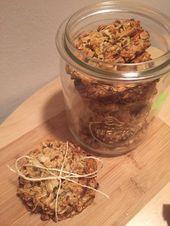 Galletas saludables de avena   – Gesunde Kekse| Cookies | Rezepte zuckerfrei