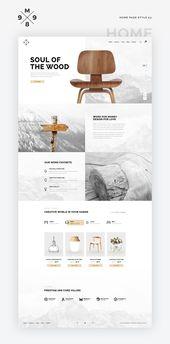 M989 Website Template Design UI Kit by Capi Creati…