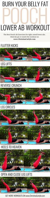 Belly Fat Workout – Lower ab pooch workout for women | Exercises for Belly Fat |…