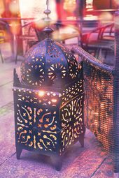 Moroccan Lantern Photography, Moroccan Decor, Lantern Print, Purple Bedroom Wall…