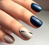 November winkt uns zu – Mode Maniküre Con …   – Ногти