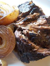 Balsamic and Onion Pot Roast   – Comida y bebida