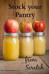 Das einzige Rezept zum Füllen mit Apfelkuchen, das Sie jemals brauchen werden – Survival Mom – Canning