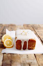 Vegan Lemon Pound Cake Recipe