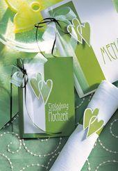 Hochzeitsplanung: so geht alles glatt! – Hochzeitskarten