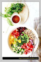 Vegane Salatrezepte