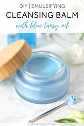 DIY Emulgierender Reinigungsbalsam mit Blue Tansy Oil – Your Fairy Godmother~Herbal Creation's Pinspirations!