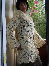 1 Irish Crochet Bing Images Dentelle Irlandaise Crochet Tricot Et Crochet