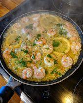 Knoblauch-Butter-Shrimp Pasta – Instakoch.de   – Rezepte