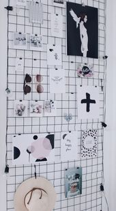 Wandgitter Dekorationsideen + 4 tolle Prints zum Ausdrucken