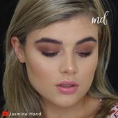 SOFT BROWN CLEAR MAKEUP SEE THE IDEA TUTORIAL