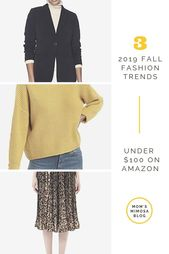 Top 3 Herbstmode-Trends unter 100 US-Dollar bei Amazon | Mamas Mimose
