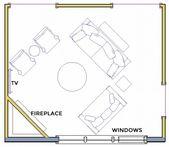 Living Room Layouts and Furniture Arrangement Tips  – Hart Street Living room